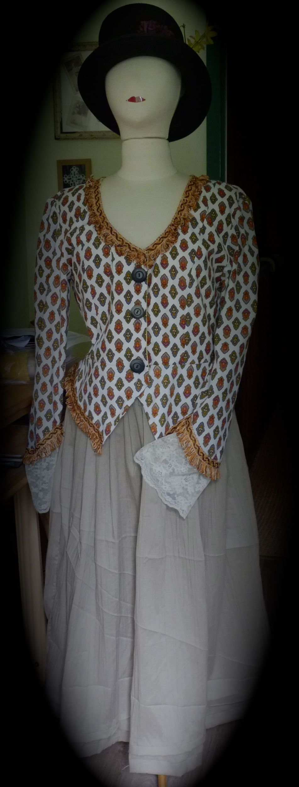 veste «Noémie» XVIIIème
