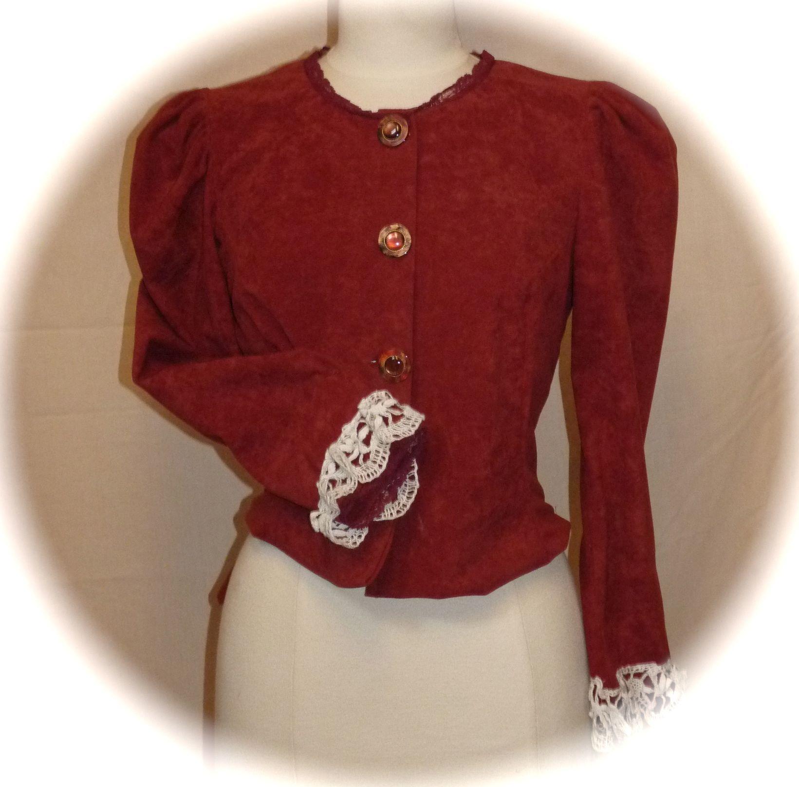 veste «Swann»bourgeoise XVIIIème