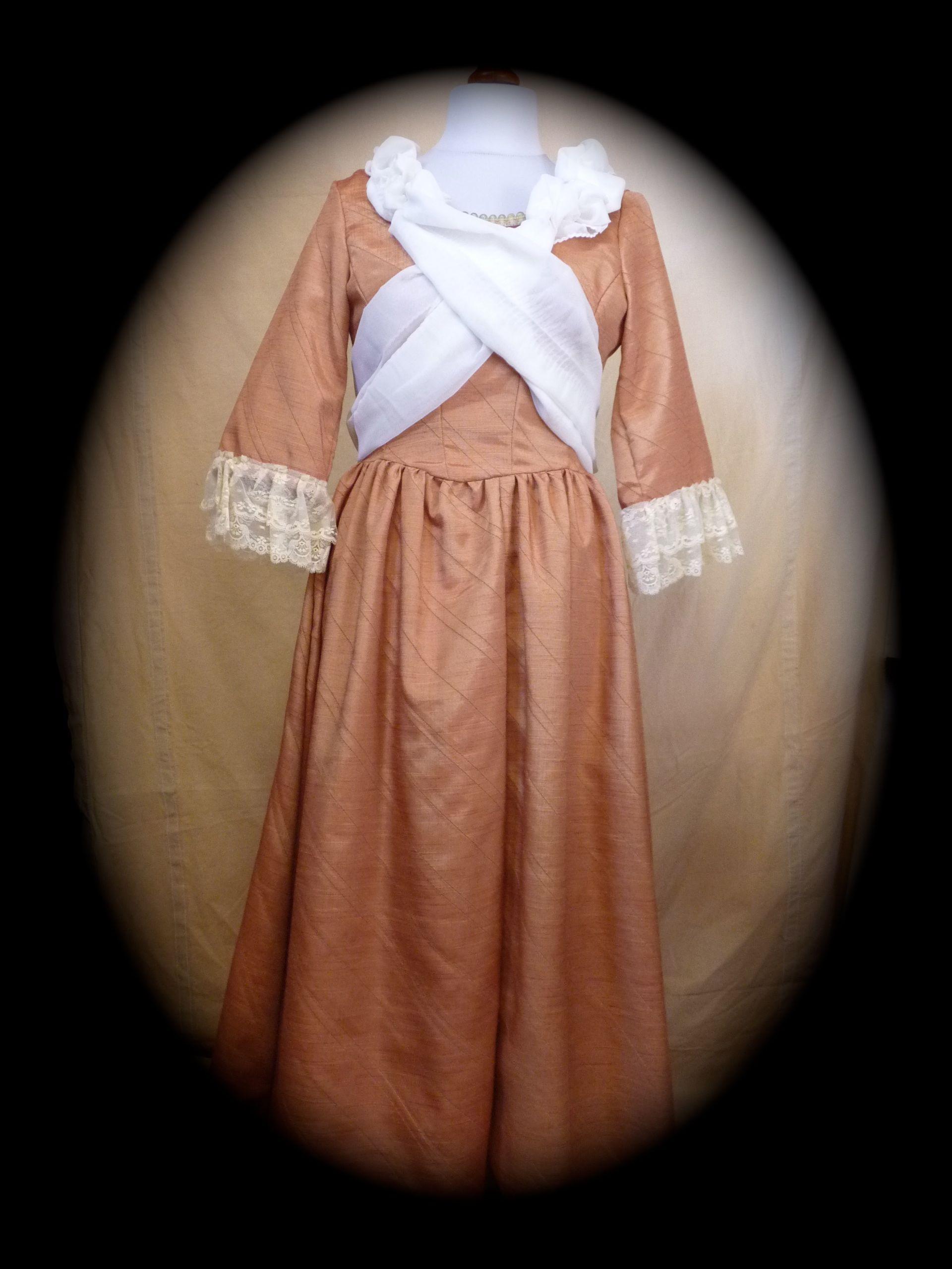 «Alice», robe bourgeoise fin XVIIIème
