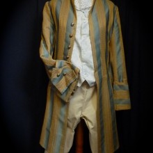 Redingote «Hannecourt» XVIIIème siècle