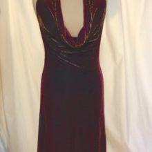 robe de soirée velours