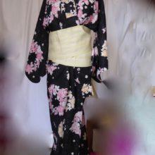 Kimono aux roses